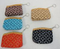 "5""x3.75"" Zippered Change Purse [Printed]"